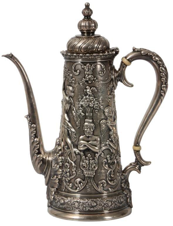 1: Tiffany & Co Olympian Chocolate Pot