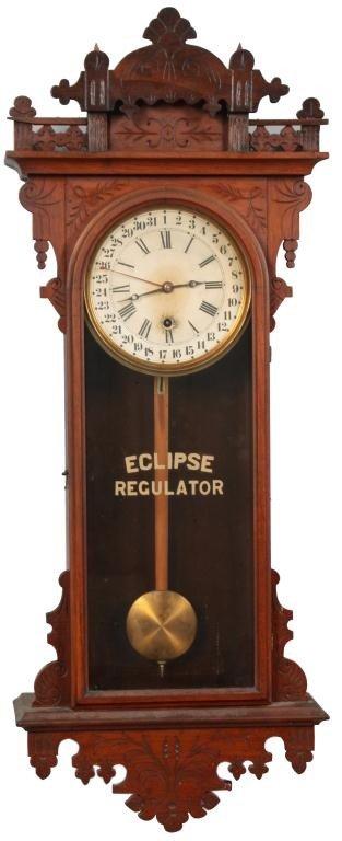 139: Welch Eclipse Calendar Wall Clock