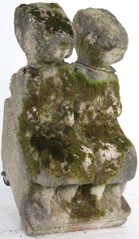235: William Edmondson Double Sculpture - 2