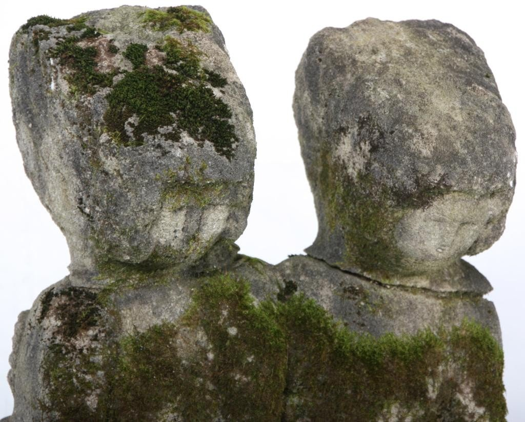 235: William Edmondson Double Sculpture - 3
