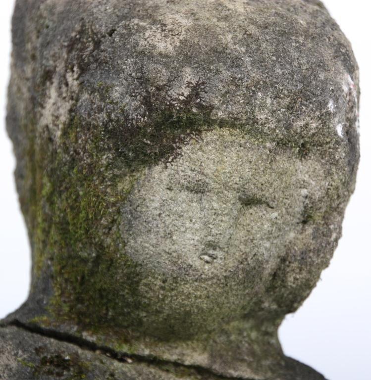 235: William Edmondson Double Sculpture - 8