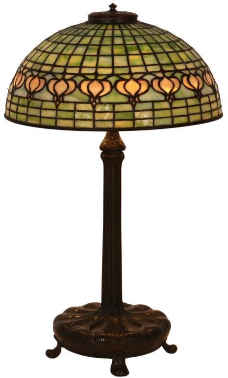 1: Tiffany Pomegranate Table Lamp