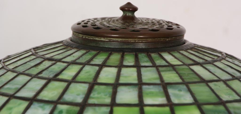 1: Tiffany Pomegranate Table Lamp - 5