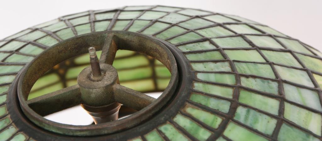 1: Tiffany Pomegranate Table Lamp - 7