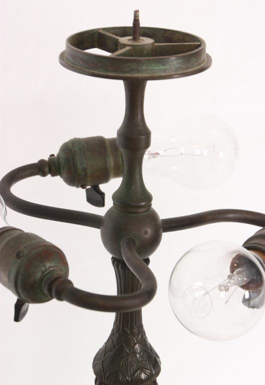 1: Tiffany Pomegranate Table Lamp - 9
