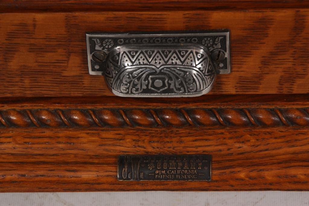 10: J.W. Winchester Oak Display Case - 4
