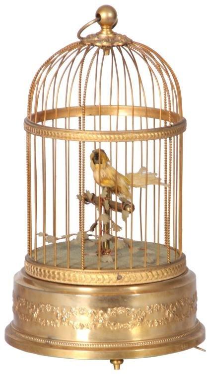 14: French Singing Birdcage Automaton