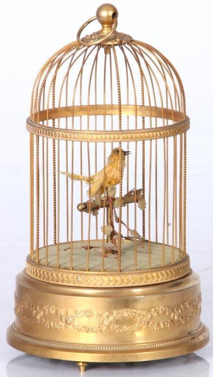 14: French Singing Birdcage Automaton - 2
