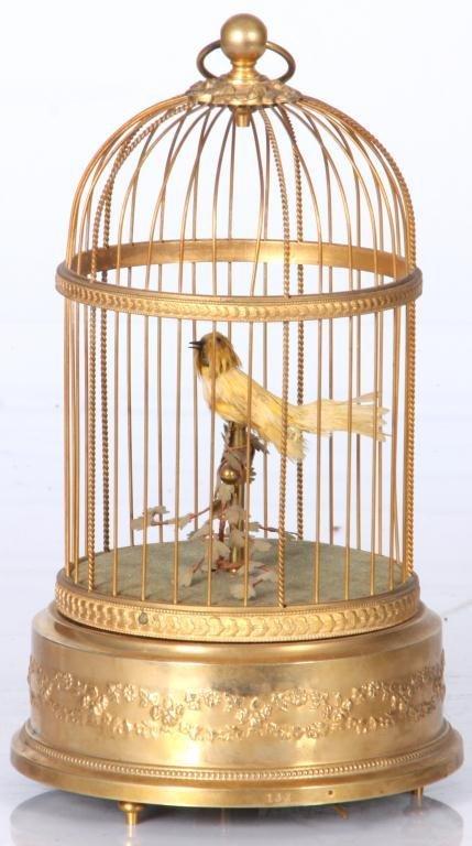 14: French Singing Birdcage Automaton - 3