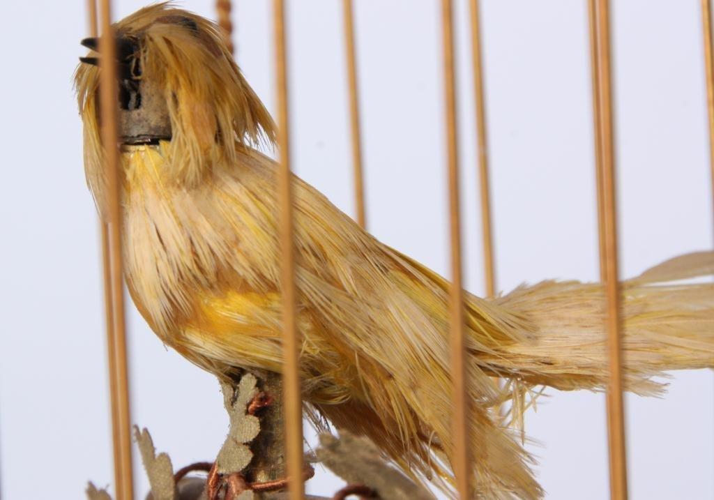 14: French Singing Birdcage Automaton - 5