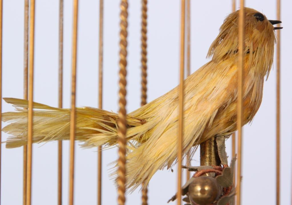 14: French Singing Birdcage Automaton - 7