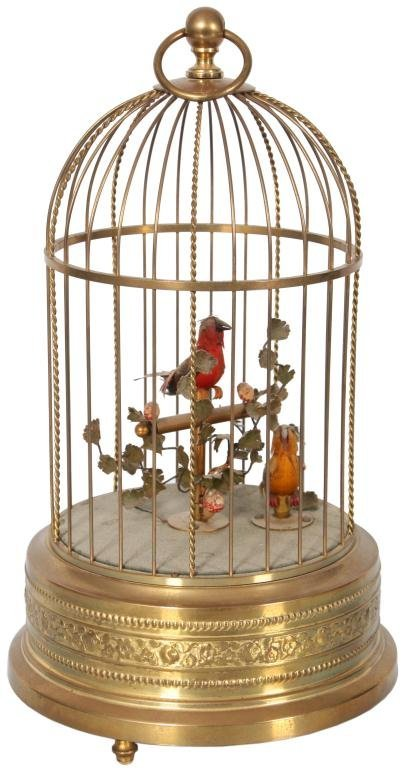 22: Double Singing Bird Cage