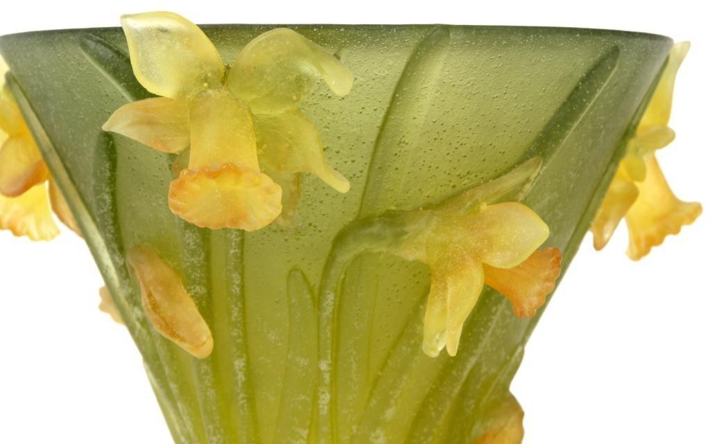 80: Daum Pate-de-Verre Vase - 2