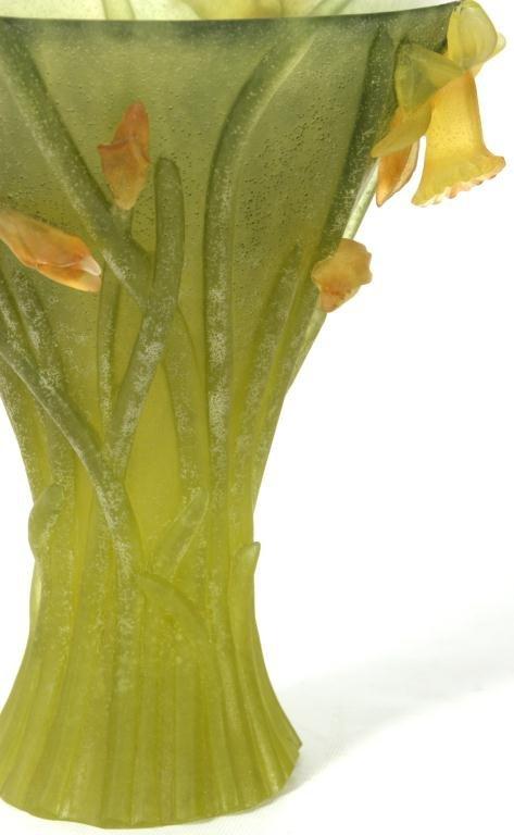80: Daum Pate-de-Verre Vase - 4