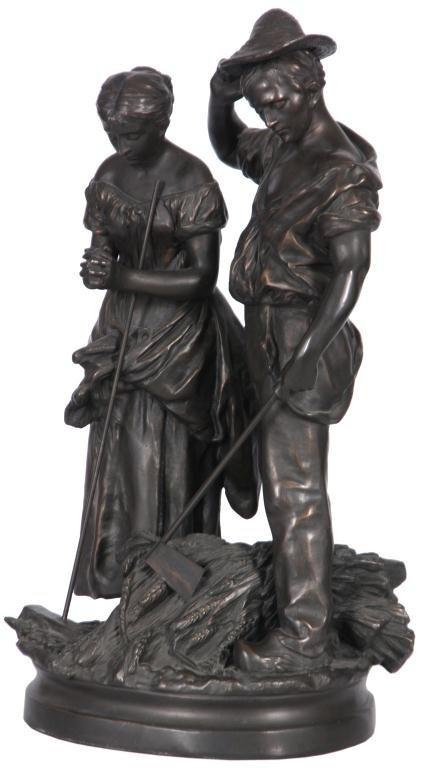 172: Bronze Farmers After C. Desmeure