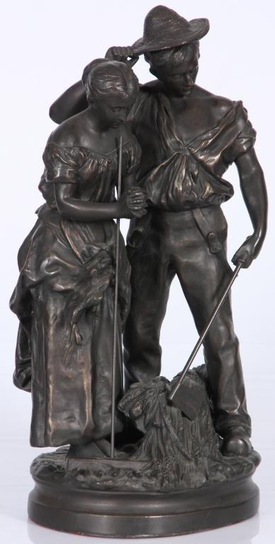 172: Bronze Farmers After C. Desmeure - 2