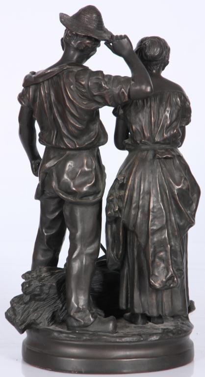 172: Bronze Farmers After C. Desmeure - 3