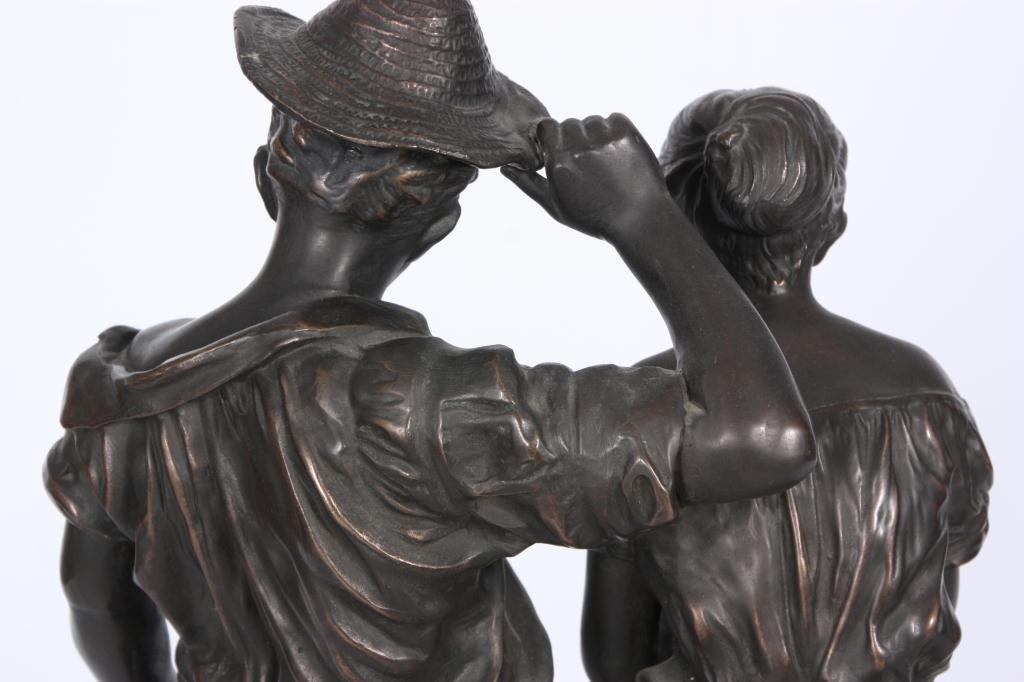 172: Bronze Farmers After C. Desmeure - 4