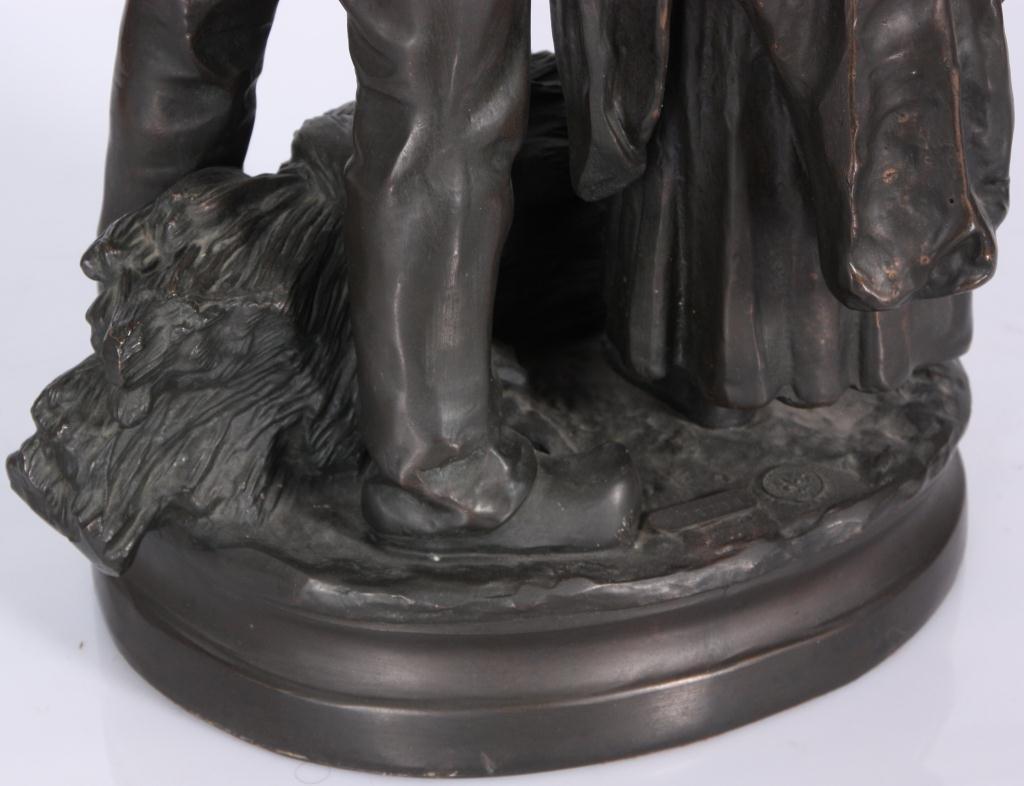 172: Bronze Farmers After C. Desmeure - 5