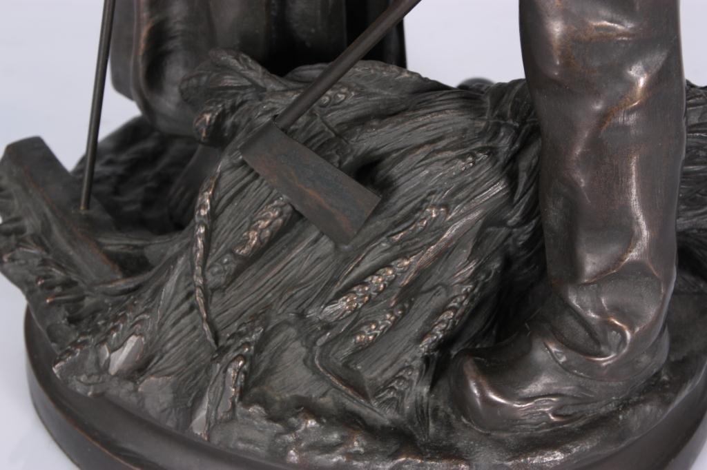 172: Bronze Farmers After C. Desmeure - 8