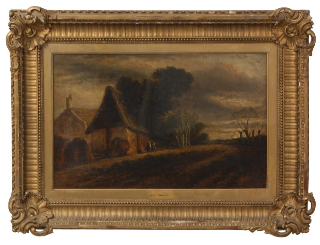 224: John Crome O/C Painting