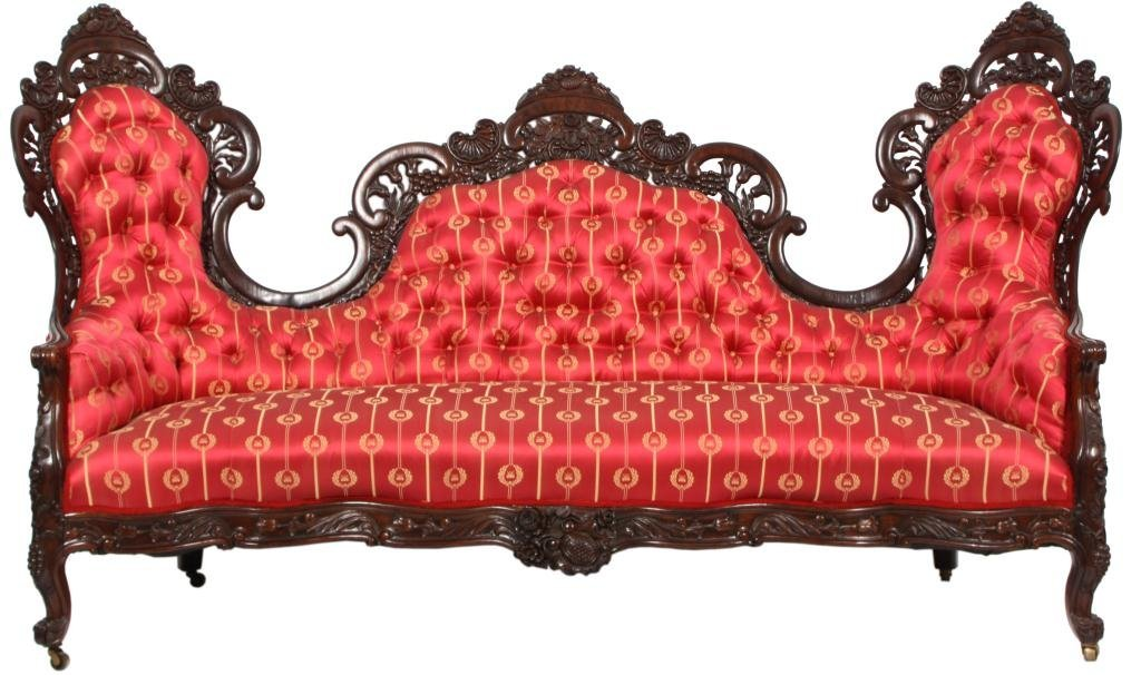 231: Belter Laminated Rosewood Sofa