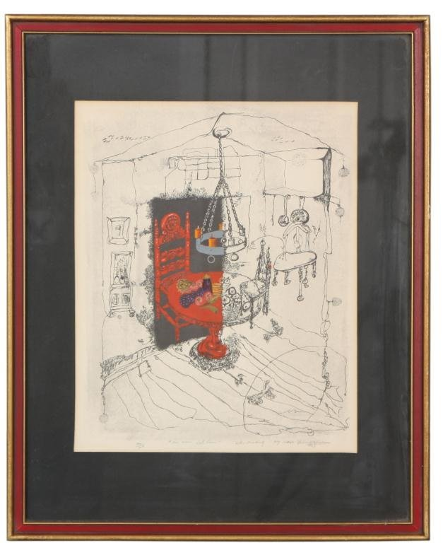234: Dean Russell Thompson Lithograph