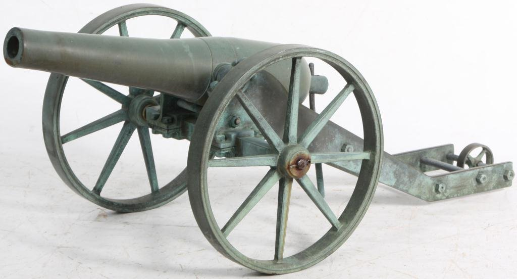 397: Small Size Bronze Cannon - 3