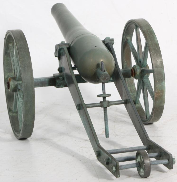 397: Small Size Bronze Cannon - 6