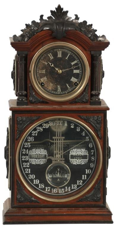 2: Ithaca 3 1-2 Parlor Model Mantle Clock