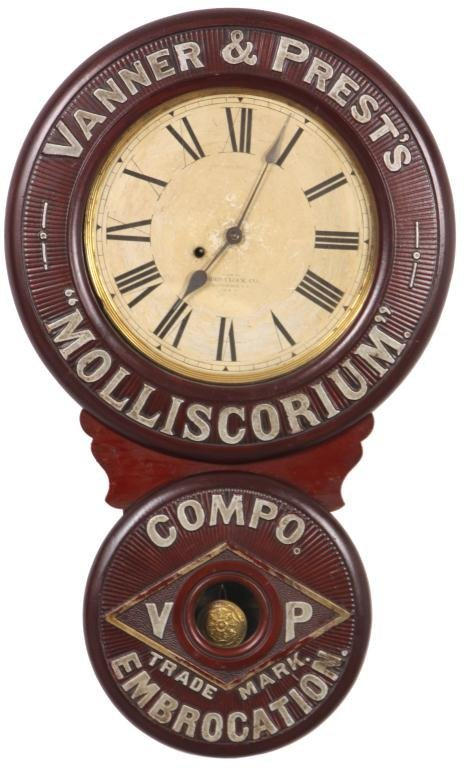 6: Baird Advertising Clock