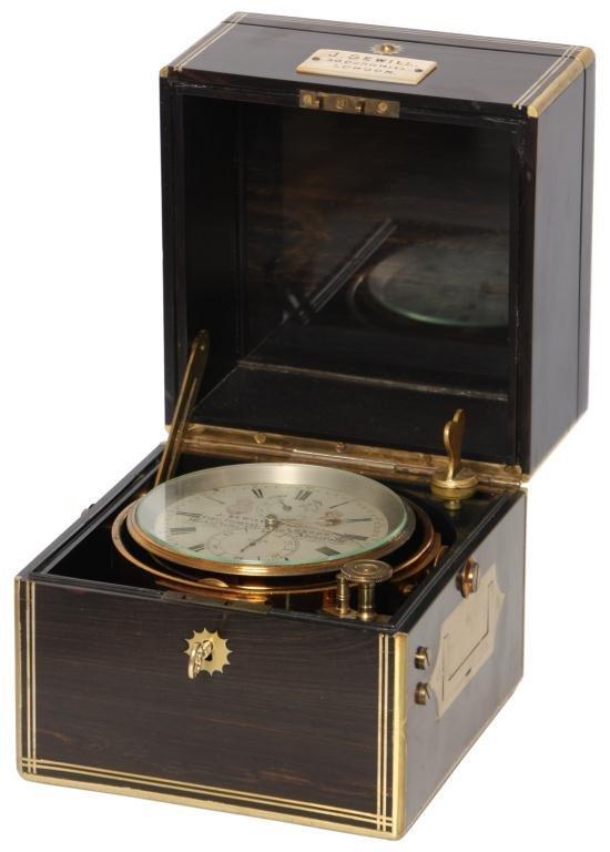 17: J. Sewill Detent Boxed Chronometer