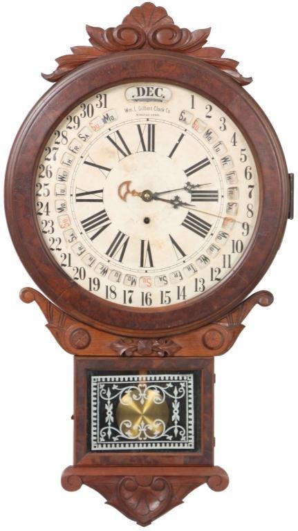 20: Gilbert Office Drop Calendar Clock