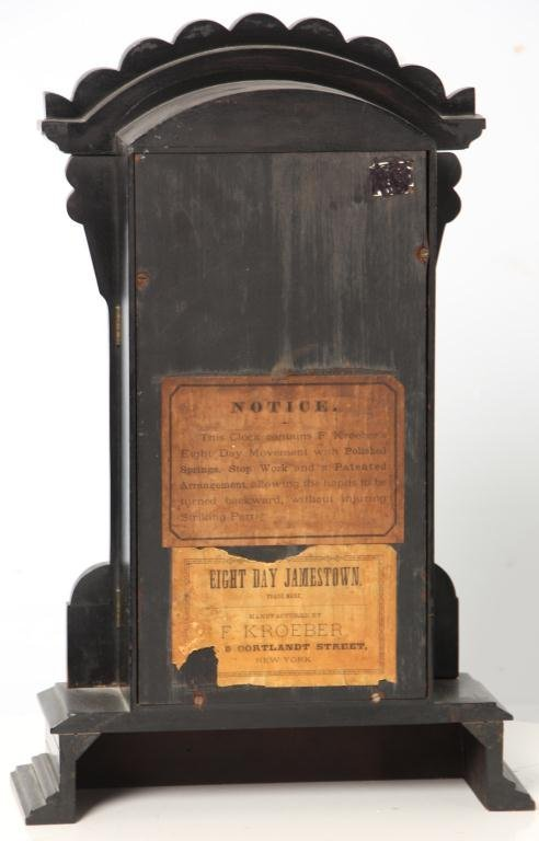 21: Kroeber Jamestown Mantle Clock - 3
