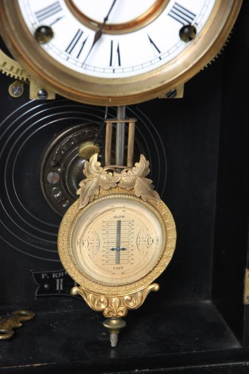 21: Kroeber Jamestown Mantle Clock - 6