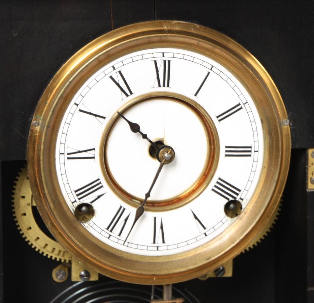 21: Kroeber Jamestown Mantle Clock - 7