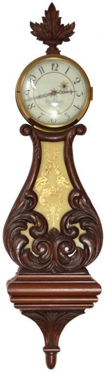 33: Elmer O. Stennes Lyre Banjo Clock