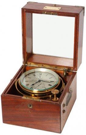 T. Mercer Detent Boxed Chronometer
