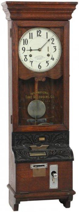 115 International Time Recorder Clock