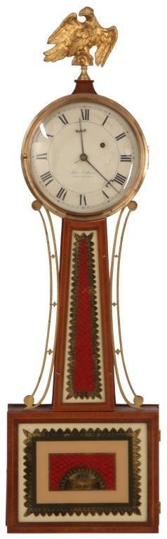 154: Elmer O. Stennes Banjo Clock