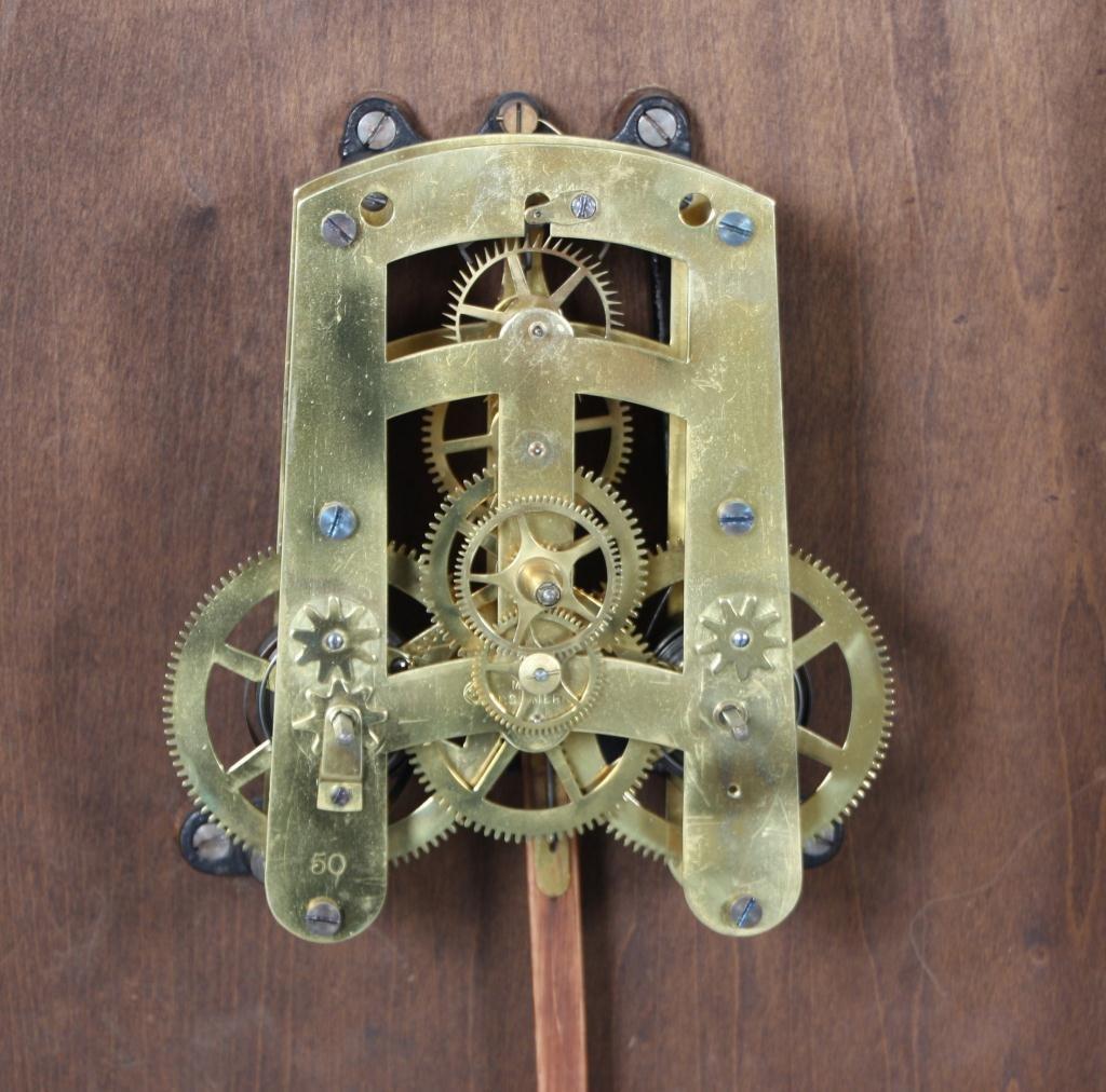 159: Seth Thomas 14 in. Lobby Clock - 6