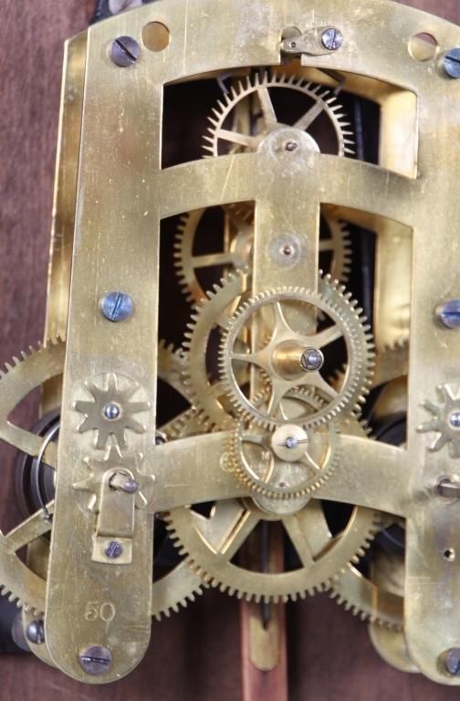 159: Seth Thomas 14 in. Lobby Clock - 7