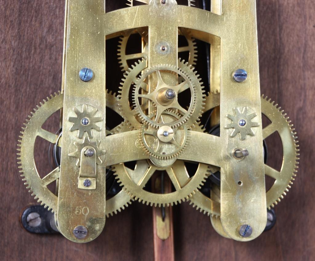159: Seth Thomas 14 in. Lobby Clock - 8