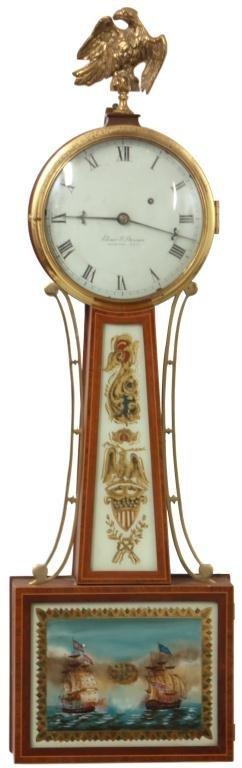 184: Elmer O. Stennes Banjo Clock