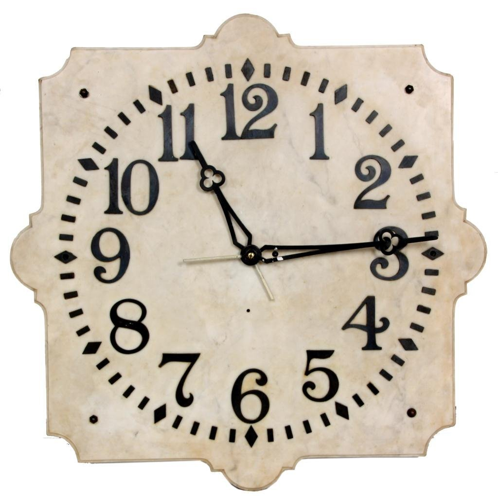 19: E. Howard No. 20 Marble Dial Clock