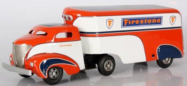 Firestone Toy Transport Truck