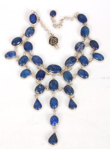 Approx. 150 Cts. Lapis Necklace