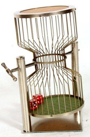 Vintage Casino Dice Cage