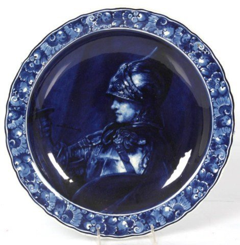 16 in. Delft Rembrandt Charger