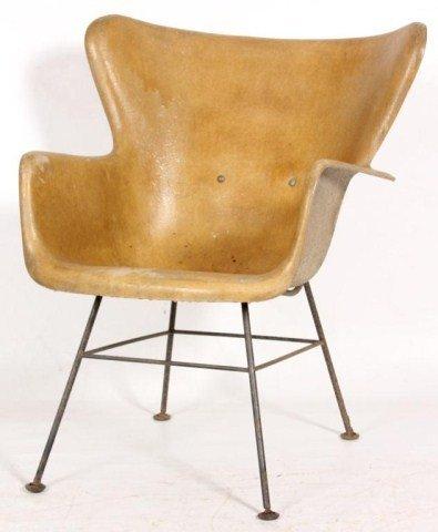Eames Style Fiberglass Chair